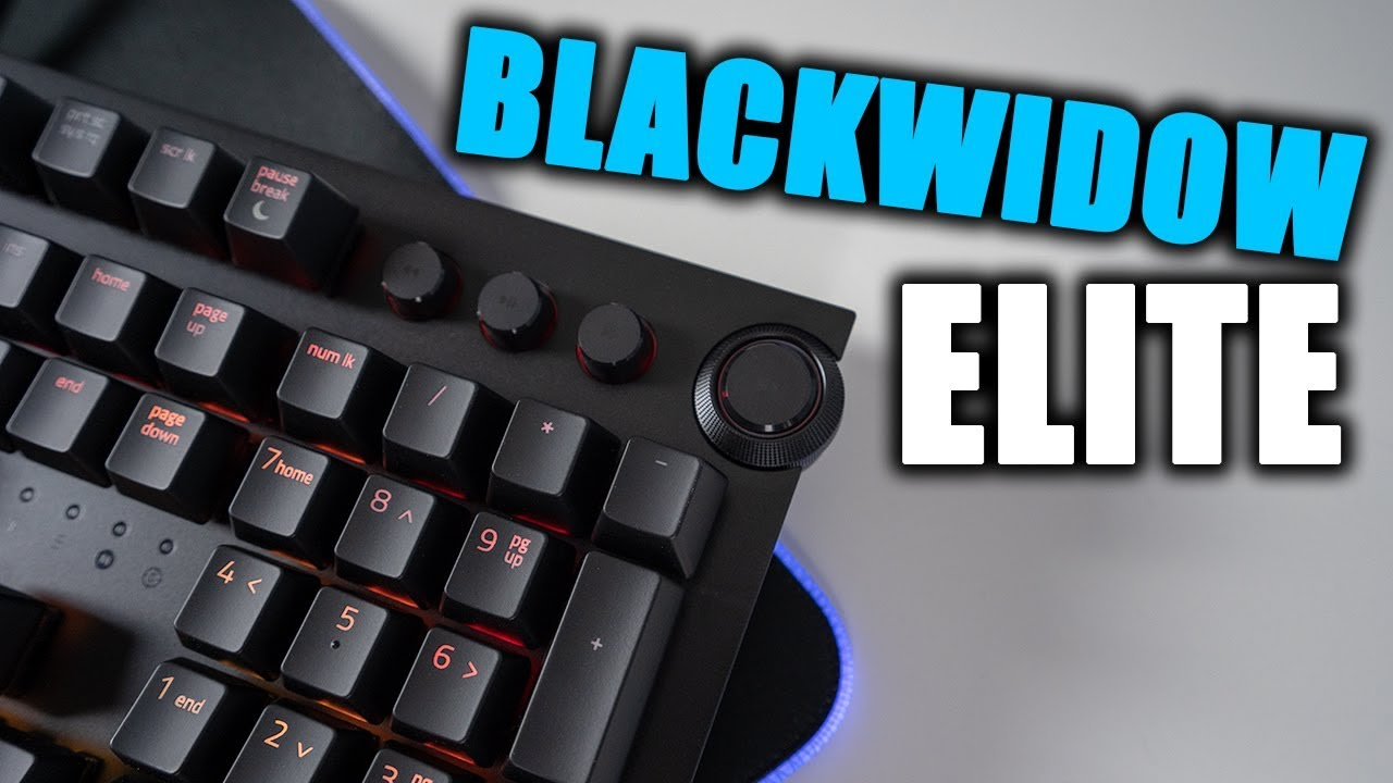 NEW Razer Blackwidow Elite Review with Improved Switches