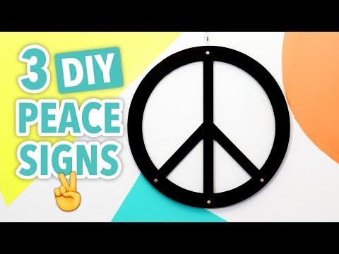 3 DIY Peace Signs - HGTV Handmade