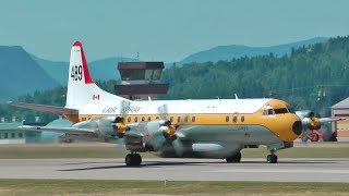 Lockheed L-188 Electra Takeoff