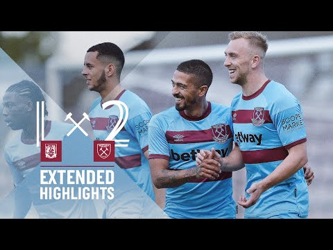 EXTENDED HIGHLIGHTS | NORTHAMPTON TOWN 1-2 WEST HAM UNITED