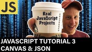 JavaScript Developer Tutorial 3 Canvas & JSON
