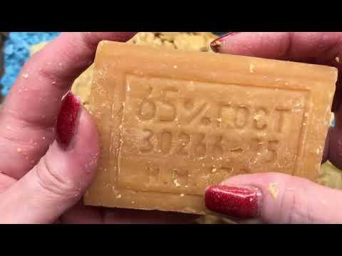 Как разрезать хозяйственное мыло