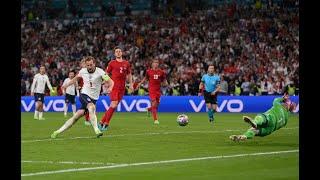 Англия Дания 2 1 впервые в финале Евро 2020