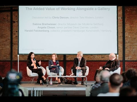 'THE ADDED VALUE OF WORKING ALONGSIDE A GALLERY'. Talking Ga