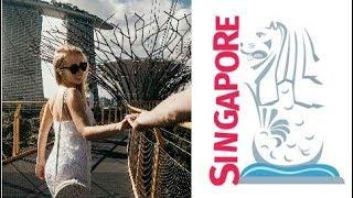 Летим домой через Сингапур | Gardens by the bay, Марина бей, бюджетный Сингапур