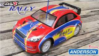 Anderson RC MB4 Rally Car