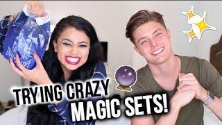 TRYING CRAZY MAGIC SETS W/ BRIAN REDMON