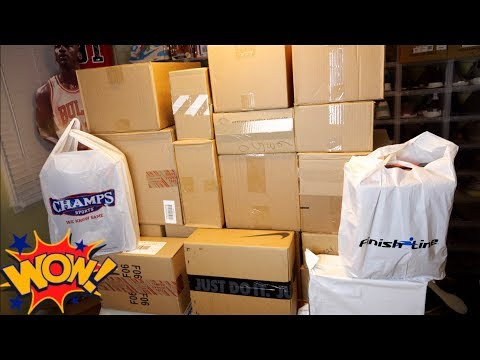 Unboxing 28 Pairs of Sneakers in ONE  The LARGEST Unboxing Ever on  Mystery Box Style