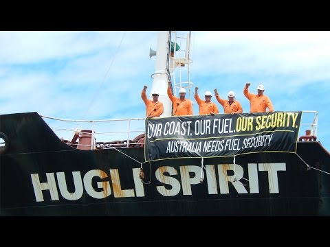 Fuel Security - Hugli Spirit Protest