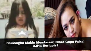 Semangka Makin Membesar, Clara Gopa Pakai B3Ha Berlapis?