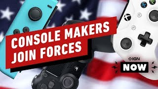 Nintendo, Sony, Microsoft Join Forces Against Trump Tariffs - IGN Now