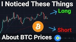 I Noticed These Things About Bitcoin Prices: Chart Reading and Technical Analysis