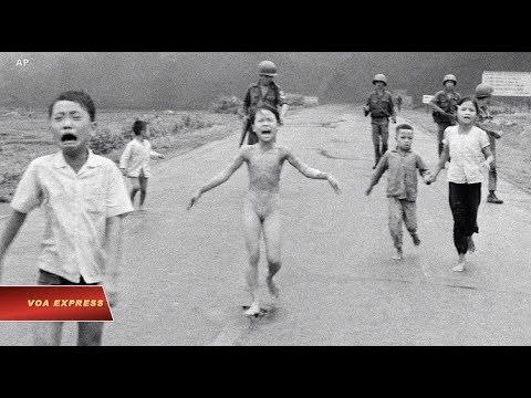 'Em bé Napalm', ảnh báo chí ảnh hưởng nhất trong 50 năm (VOA)