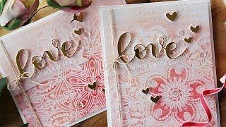 Simon Says Stamp Hey Love Blog Hop | Set of 3 Cards