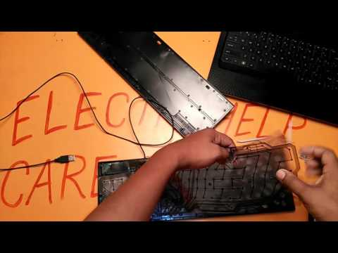How to repair keyboard? keyboard not recognized, keyboard not working. electronics