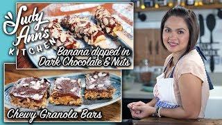 [Judy Ann's Kitchen 13] Ep 2 : Peanut Butter & Coconut Balls, Chewy Granola Bars   Healthy Bites