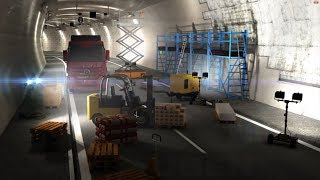 MULTI-MONTI® – Der innovative Schraubanker für Befestigungen im Tunnelbau