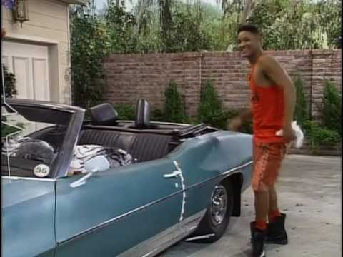 fresh prince will car