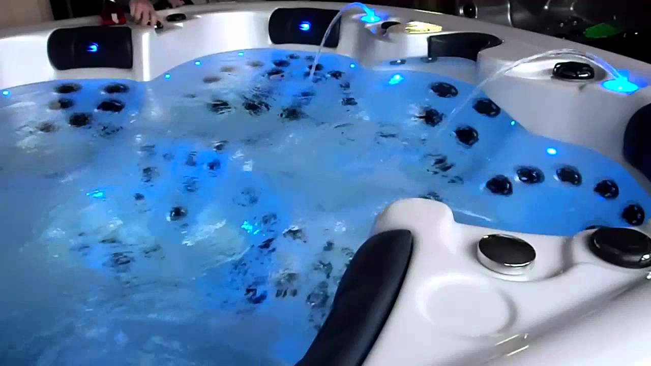Pop-up fontein Relux Spa Unique - Jacuzzi Whirlpool Hot tub massage ...