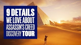 9 Fascinating Facts You Should Know About Assassin's Creed Origins: Discovery Tour