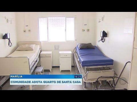 Projeto da Santa Casa de Marília consegue reformar quartos com a ajuda da população