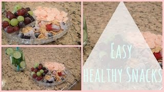 Easy Healthy Snacks Thumbnail