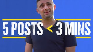 How to Create 5 Posts in Less Than 3 Minutes