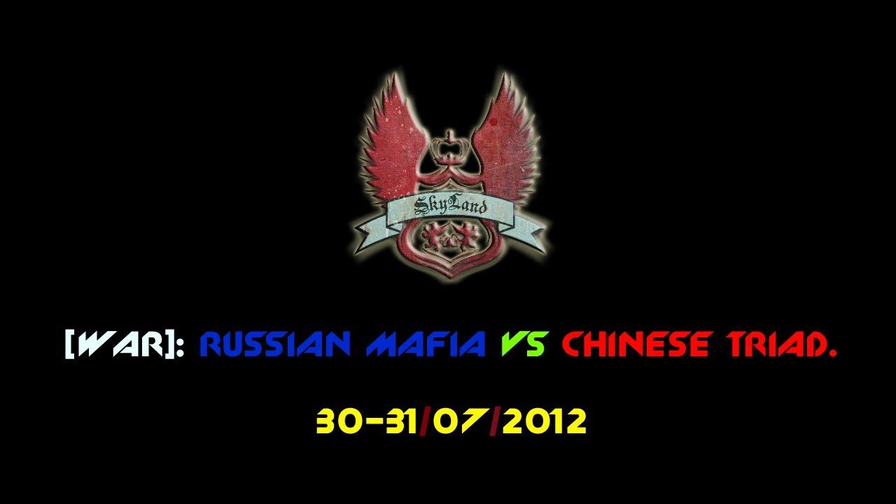 Rp Skyland War Russian Mafia Vs Chinese Triad Youtube