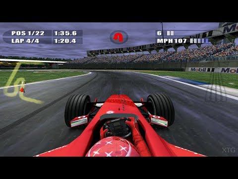 F1 2002 PS2 Gameplay HD (PCSX2)