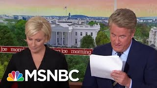 Whistleblower: White House Officials Intervened To 'Lock Down' Records Of Call | Morning Joe | MSNBC