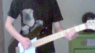 iron maiden paschendale guitar cover