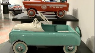 Pedal Car Show at the Attleboro Arts Museum