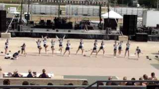 Napoleon Cheerleading - Fulton County Fair Competition