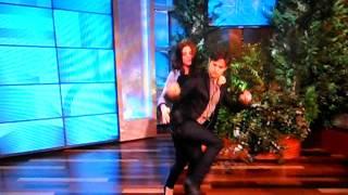 Ashley Greene and Jackson Rathbone dancing!