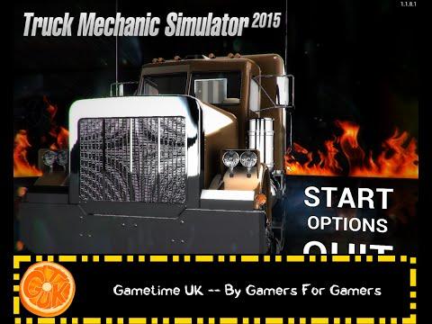 Truck Mechanic Simulation 2015  