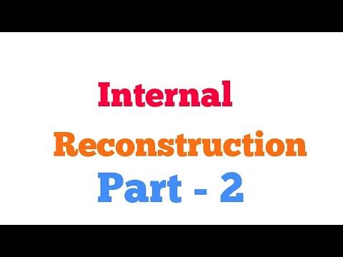 Internal Reconstruction  Part  - 2
