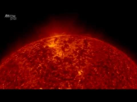 NASA | 4K video : Once around the Sun : UHD Video - Close up of solar activity