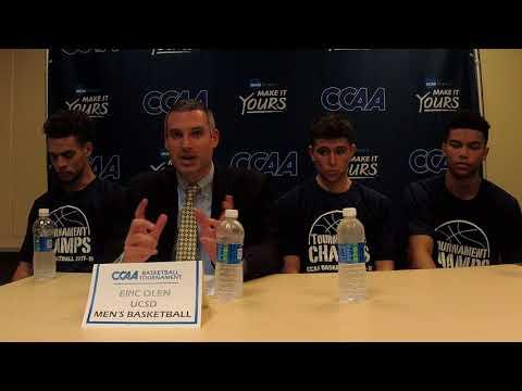 2017-18 CCAA Men's Basketball Championship Final - UC San Diego