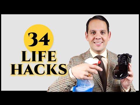 35 Incredible Men's Life Hacks Every Modern Gentleman Should Know - Gentleman's Gazette - 동영상