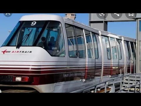 How To Take Airtrain For Terminals A B C & D Liberty Airport Ewr New Jersey