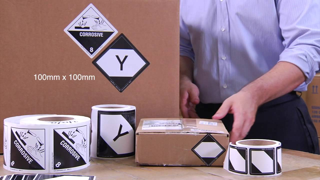 Limited quantity labels rules and regulations presented by labelmaster youtube for Ups dangerous goods