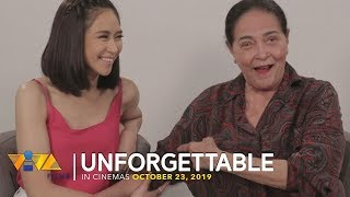 Unforgettable Moments with Sarah Geronimo and Gina Pareño [UNFORGETTABLE - Oct 23]