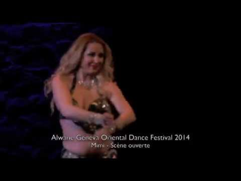 Mimi - Scène Ouverte - Alwane Geneva Oriental Dance Festival 2014