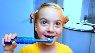 This is the way brush your teeth