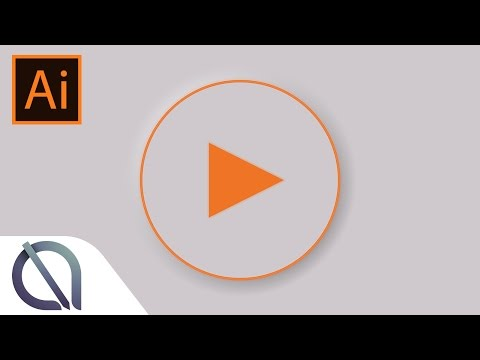 How to create play button vector for UI designers - Tutorial - Illustrator