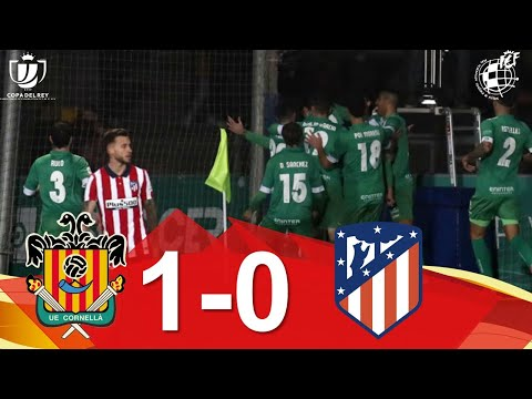 Cornella Atletico Madrid Goals And Highlights