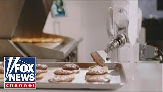 Flippy, the burger-flipping robot, takes a break