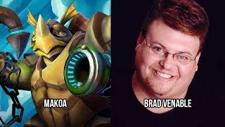 Characters and Voice Actors - Paladins