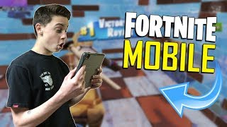 FAST MOBILE BUILDER on iOS / 1085+ Wins / Fortnite Mobile + Tips & Tricks!