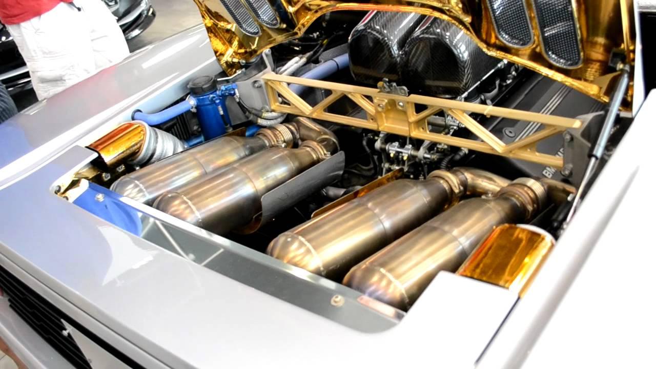 Mclaren F1 Lm Engine Details Hd